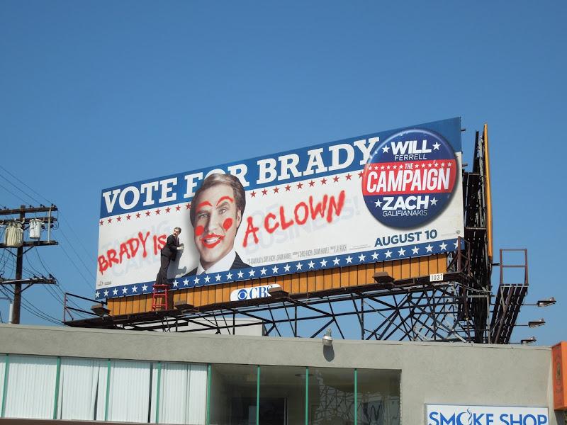 Campaign special installation billboard