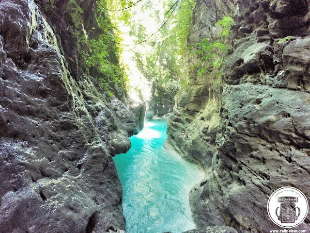river trekking in cebu