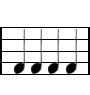 Semínimas musical