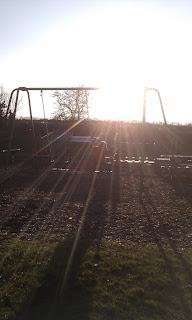 Sunny playground