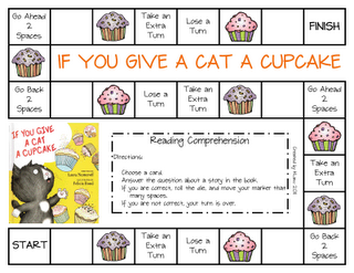 Sharing Kindergarten If You Give A Cat A Cupcake