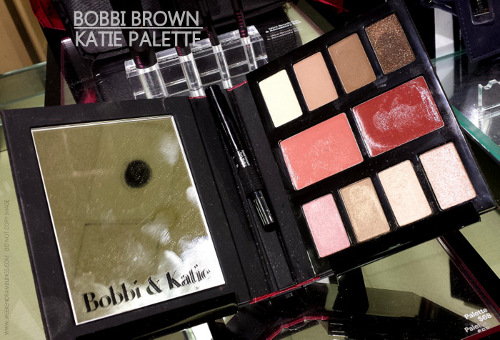 Bobbi Brown Katie Holmes Makeup Collection - Palette - Mini Brush Set - Photos Swatches