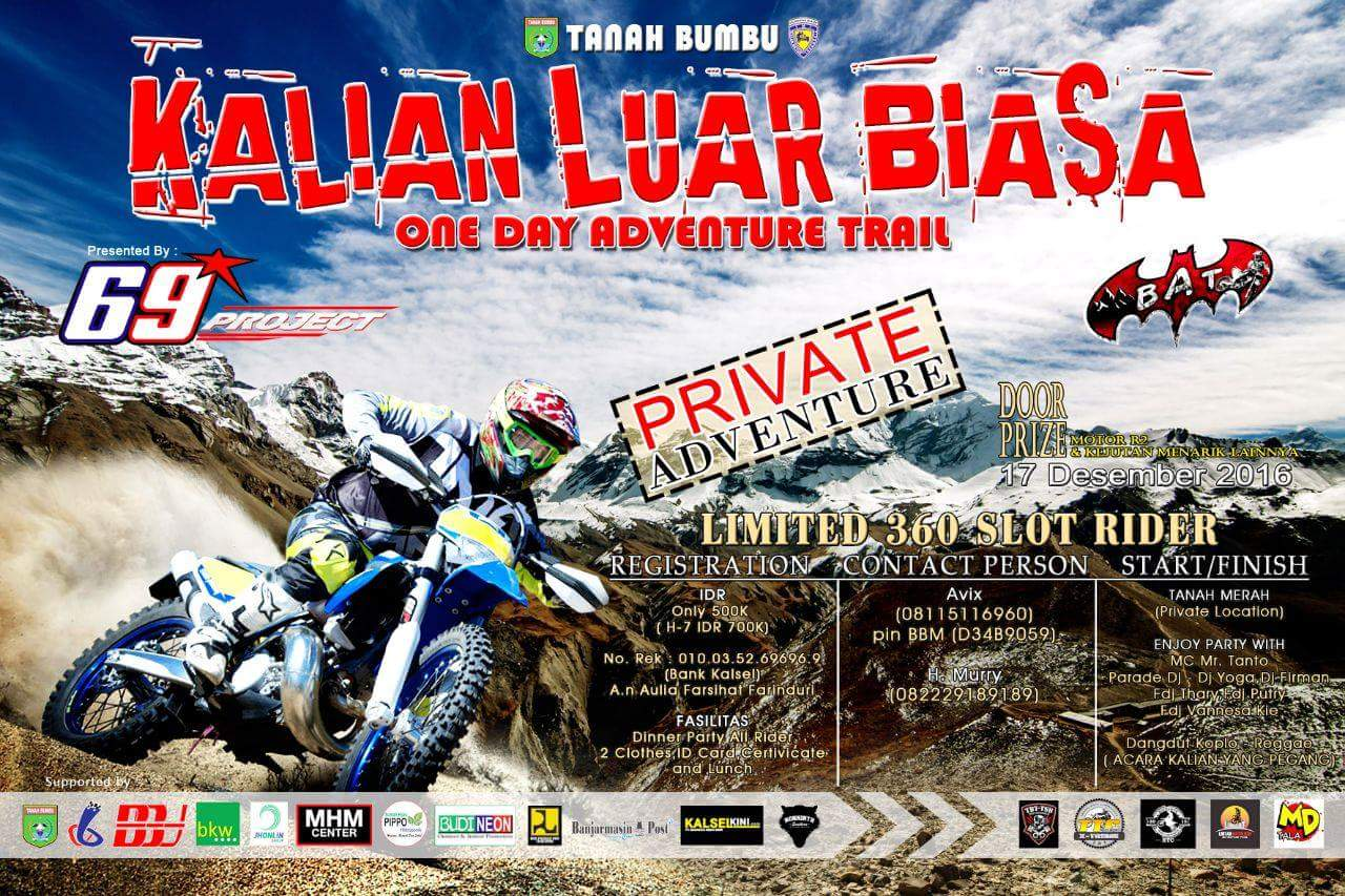 KALIAN LUAR BIASA one day adventure TRAIL