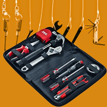 Bosch - Skil 9 Piece Household Tool Kit | Bosch Skil 9 Tool Kit Online, India - Pumpkart.com