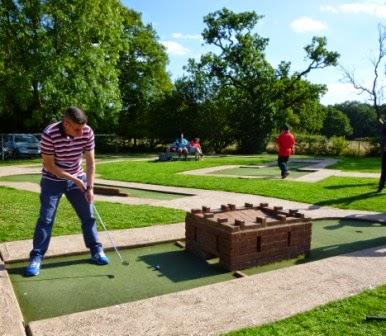 Minigolf at the Four Ashes Golf Centre in Dorridge