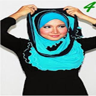 Cara Memakai Jilbab Kreasi Jilbab Shwal Model Silang Simple