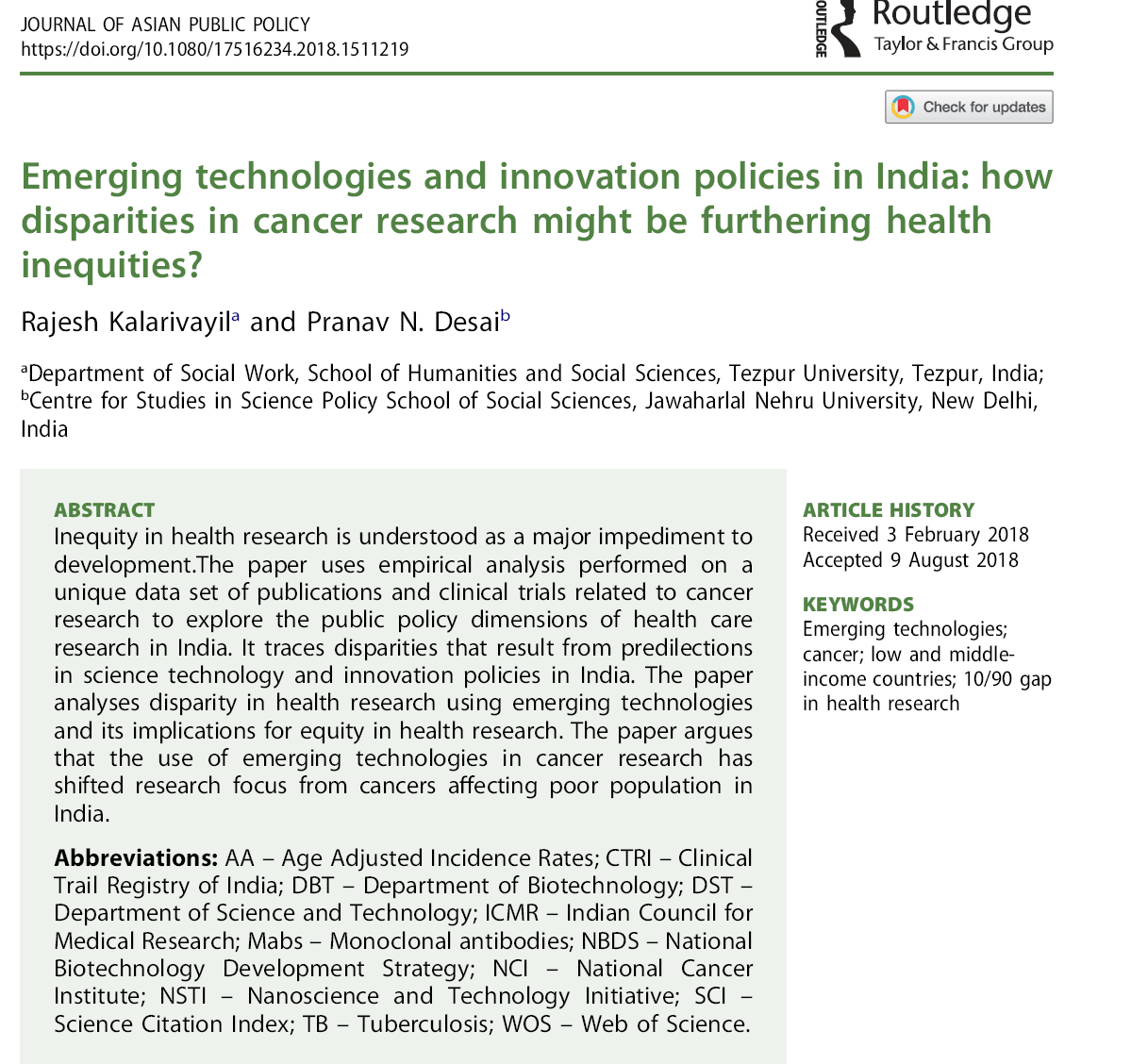 Bricslics 2018 Dc Motor Drives Electrical Study App By Saru Tech The Paper Argues That Use Of Emerging Technologies In Cancer Research Has Shifted Focus From Cancers Affecting Poor Population India