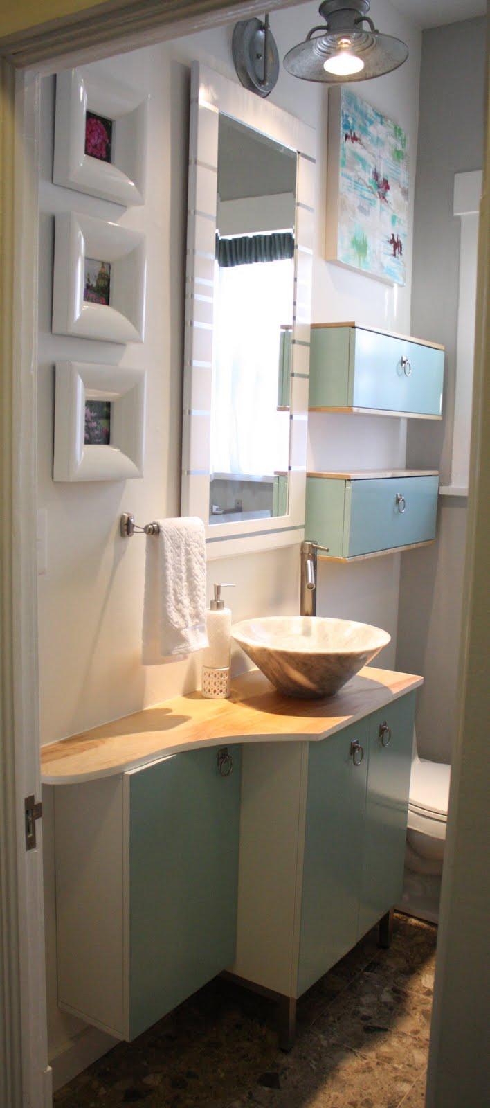 Ikea bathroom remodel