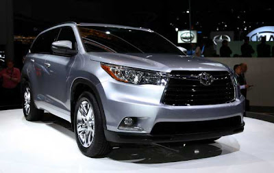 Hotcarupdate: 2014 Toyota Highlander Debut at 2013 New York Auto Show