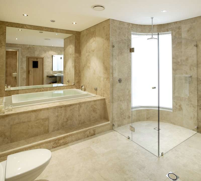 Marble bathroom pictures bathroom furniture for Toilet and bath design