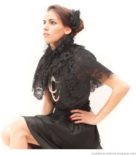 Viuda Negra otoño invierno 2012 por Rocío Palacios.