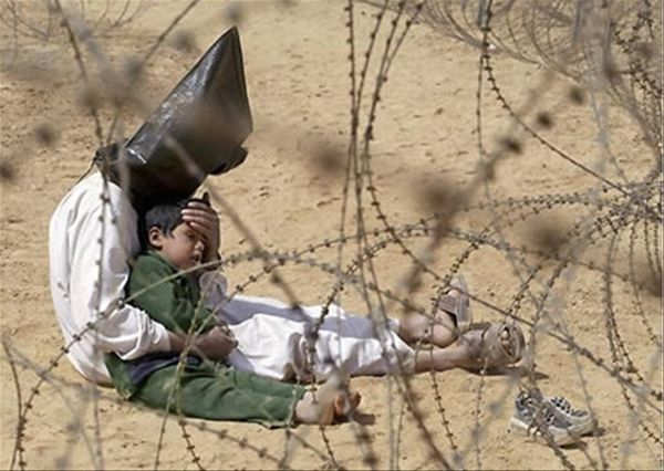 An Iraqi War Prisoner, 2003