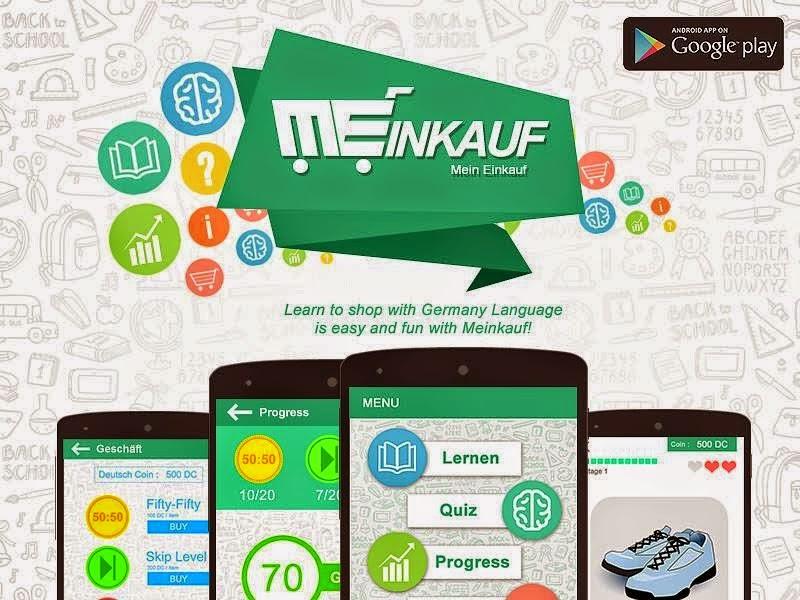 Aplikasi Meinkauf Bahasa Jerman Untuk HP Android