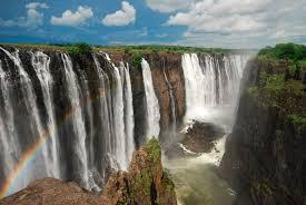 Zimbabwe chutes de Victoria Falls