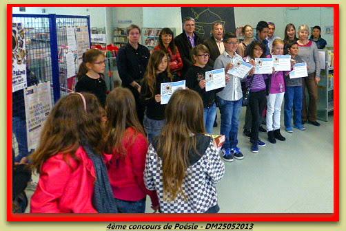 4ème Concours de Poésie 2013