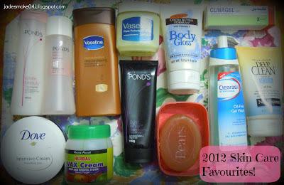 2012 Skin Care Favourites!