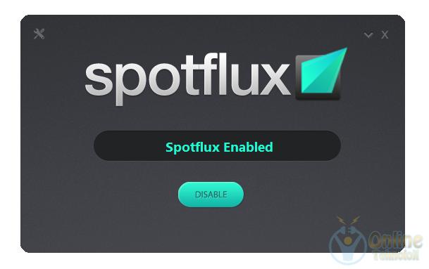 Spotflux tanıtım, engelli sitelere erişim