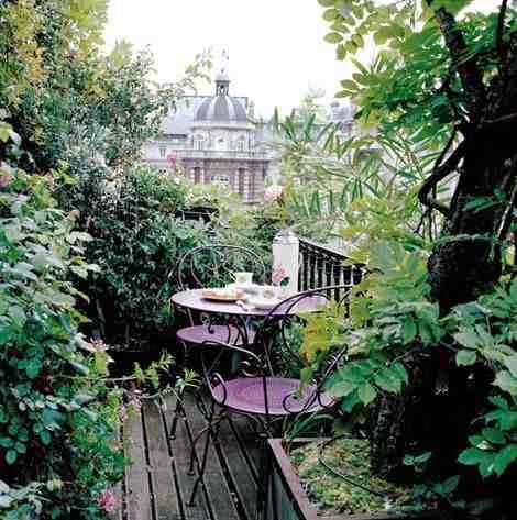Aranżacja małego balkonu, small balkony ideas