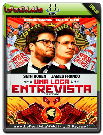 The Interview (2014) BRrip 720p Latino-Ingles