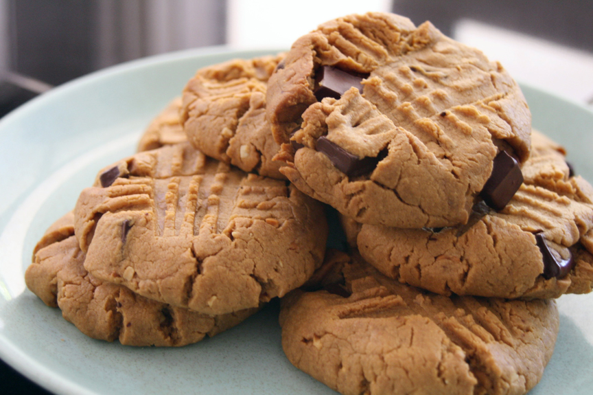 Please Note: Peanut Butter Chocolate Chip Cookies