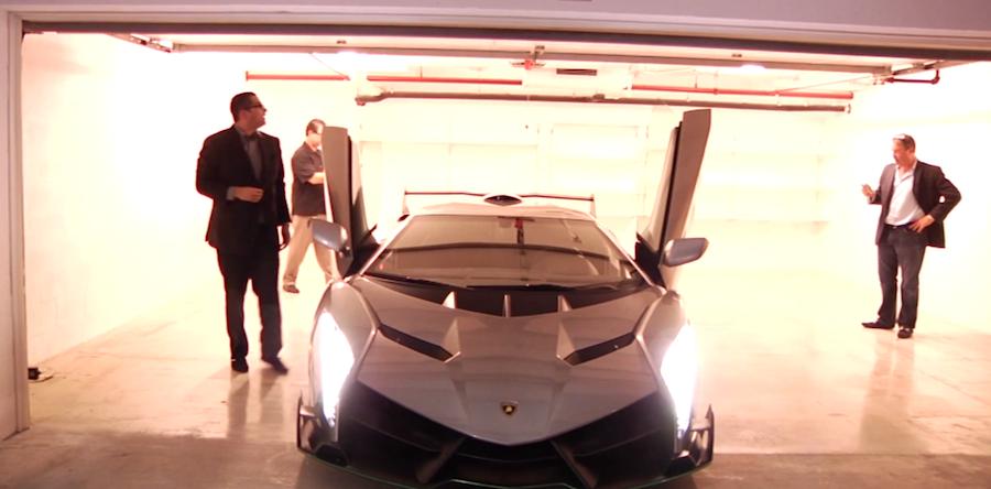 4億円オーバーの「ランボルギーニ・ヴェネーノ」が納車される動画を公開