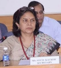 Secretary, Department of Disability Affairs, Ministry of Social Justice & Empowerment, Ms. Stuti Kacker