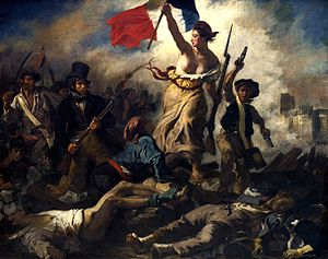 Liberty Leading the People :  <br>French Revolution (1789)