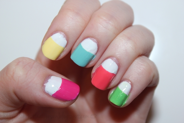 Makeup Beauty Fashion Tutorial How To Create Fun Spring Nails