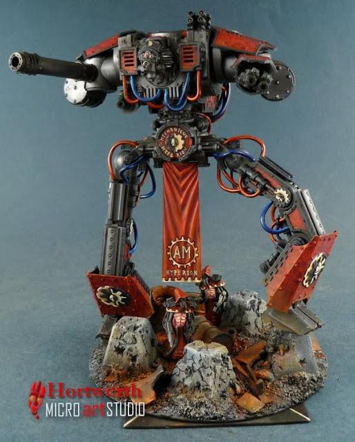 Titan Knight del Adeptus Mechanicus