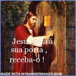 Espiritual mimo selo jesus bate sua porta for Jesus a porta