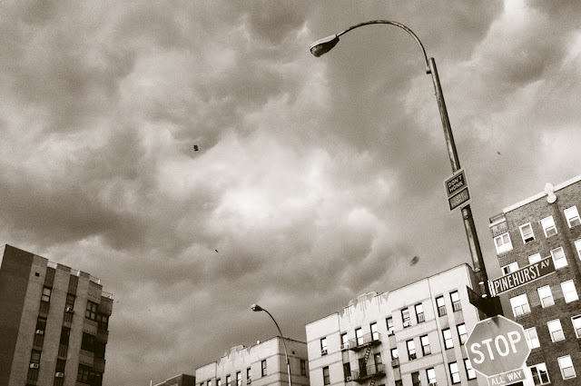 © 2012 Amber Schley Iragui, Hudson Heights NY, before the storm