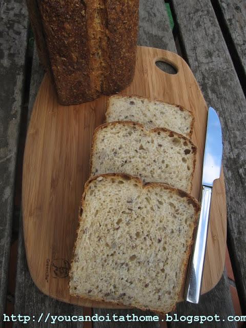 multigrain pan bread -the new favorite bread