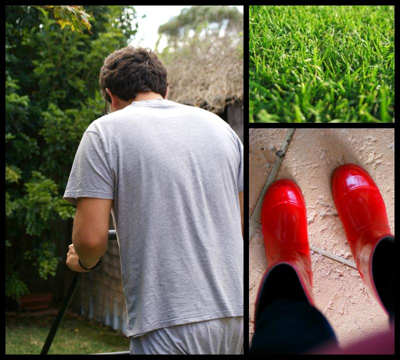 Gardening in Gumboots