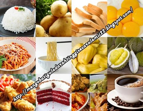 Pantangan Makanan Bagi Penderita Gula Darah Tinggi