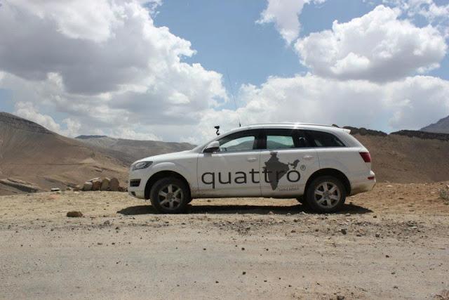 The Audi Quattro Drive AUDI INDIA- AUDI Q3-AUDI Q5- AUDI Q7