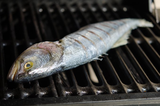 Grilled Fish with Soy Lime Chili Sauce 3   Korean Recipes