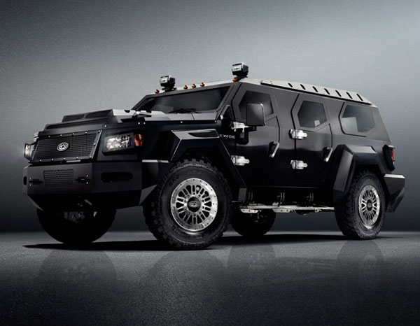 Armored Limousine side