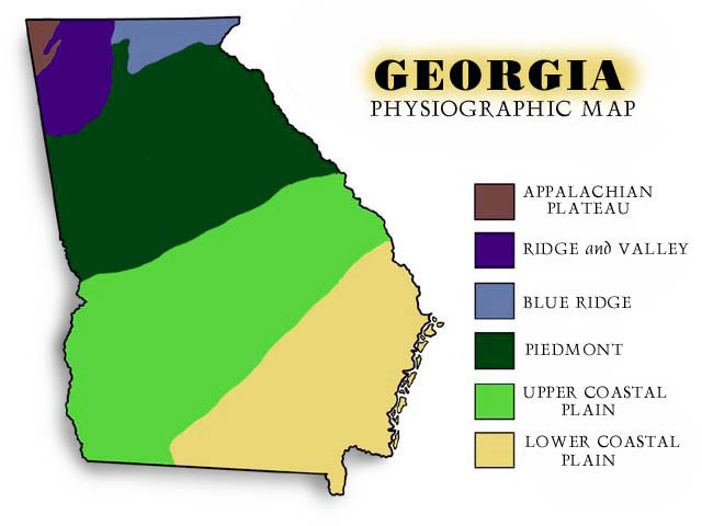 The Piedmont Chronicles: What Exactly is The Georgia Piedmont?