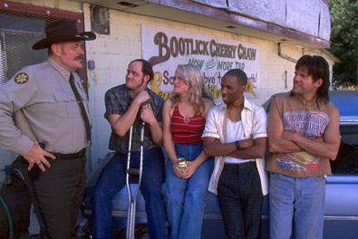 Ronnies's old friends back home in Run Ronnie Run movieloversreviews.filminspector.com