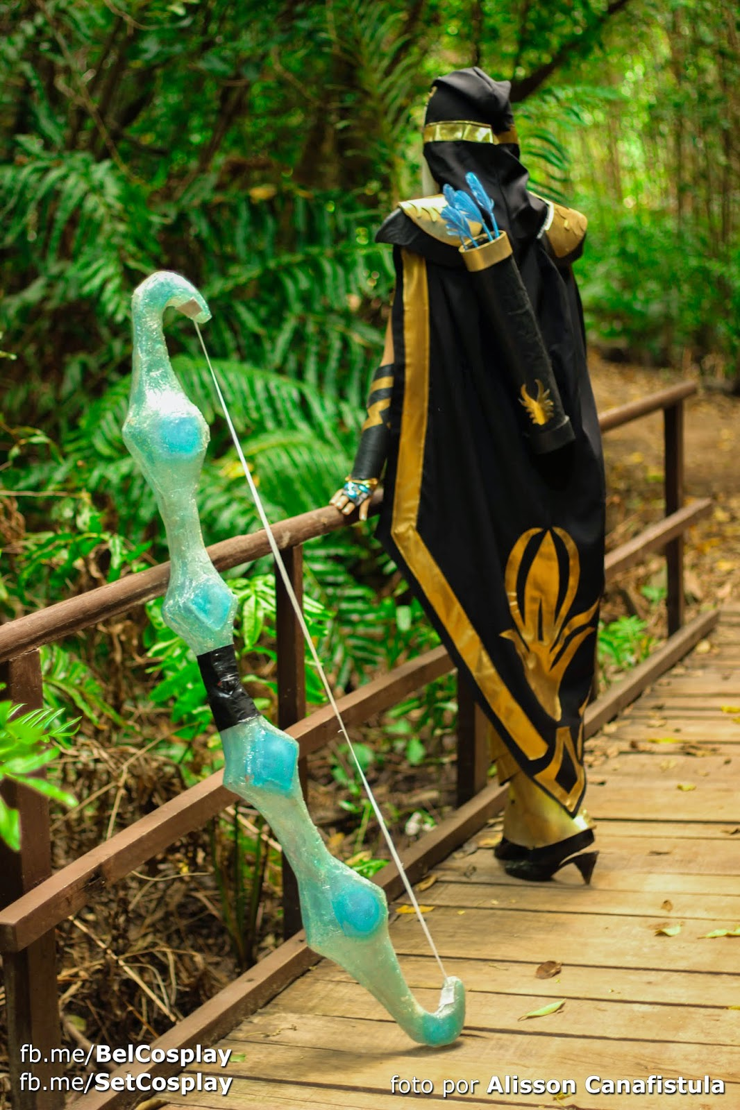 Cosplay Ashe League Of Legends