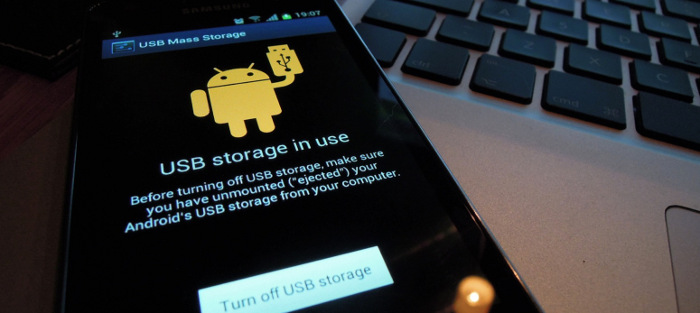 android usb transfer