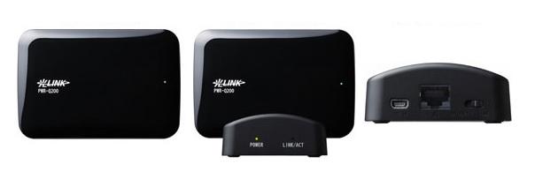 光LINK PWR-Q200をWi-Fi中継機として利用する