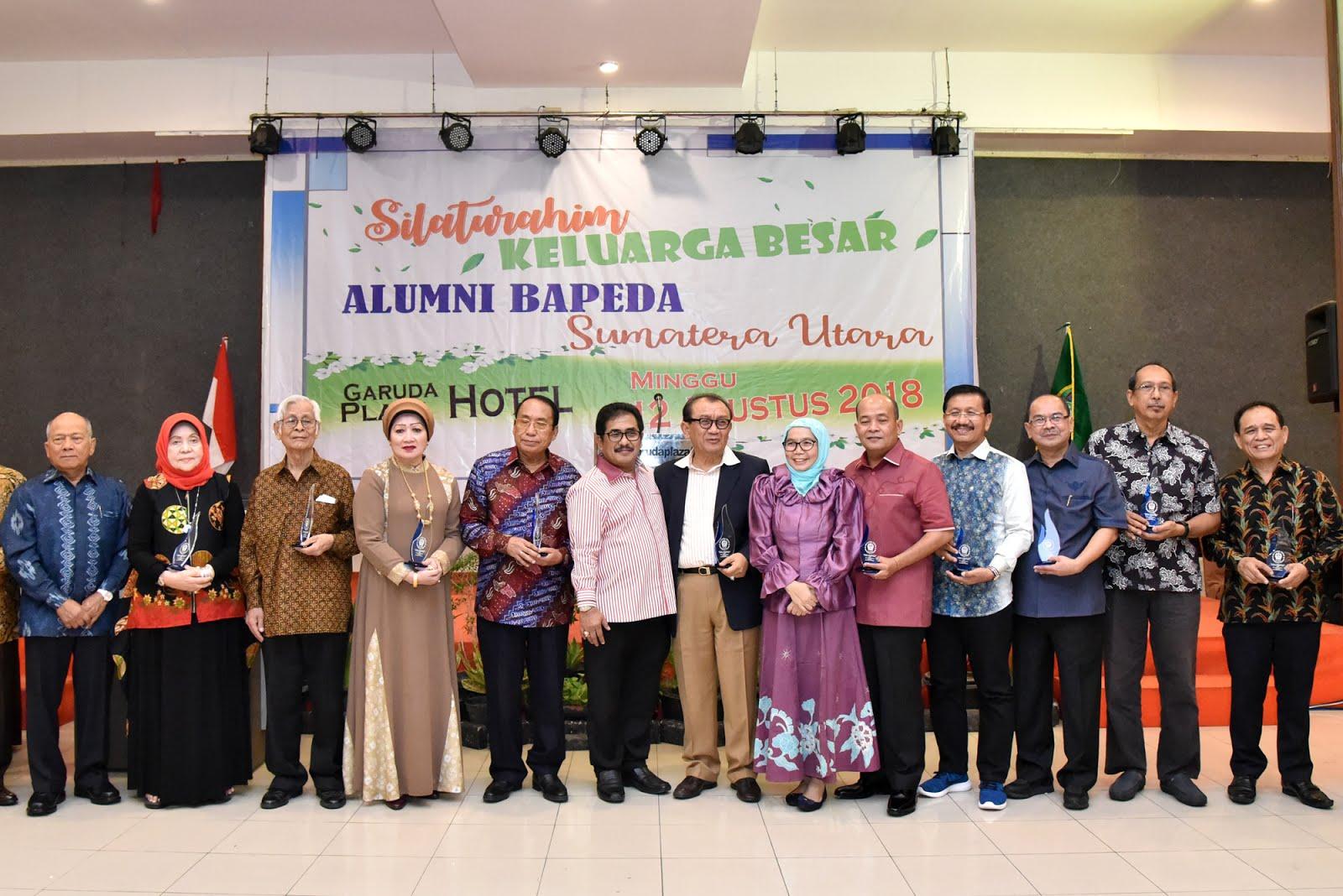 Sekdaprovsu Berharap Alumni Bappeda Sumut Berikan Sumbangsih Terhadap Pembangunan Daerah