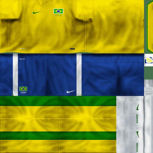 New Kit Hd Brasil Pes 6