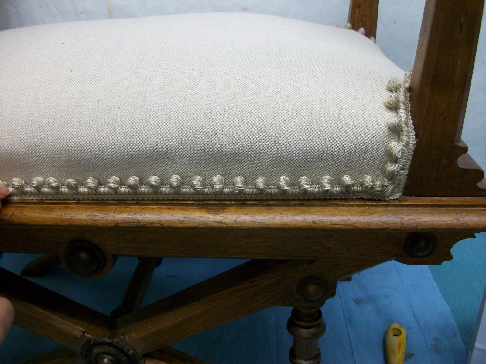 Restauraci n el palisandro restauraci n y tapizado de una - Como tapizar una descalzadora ...