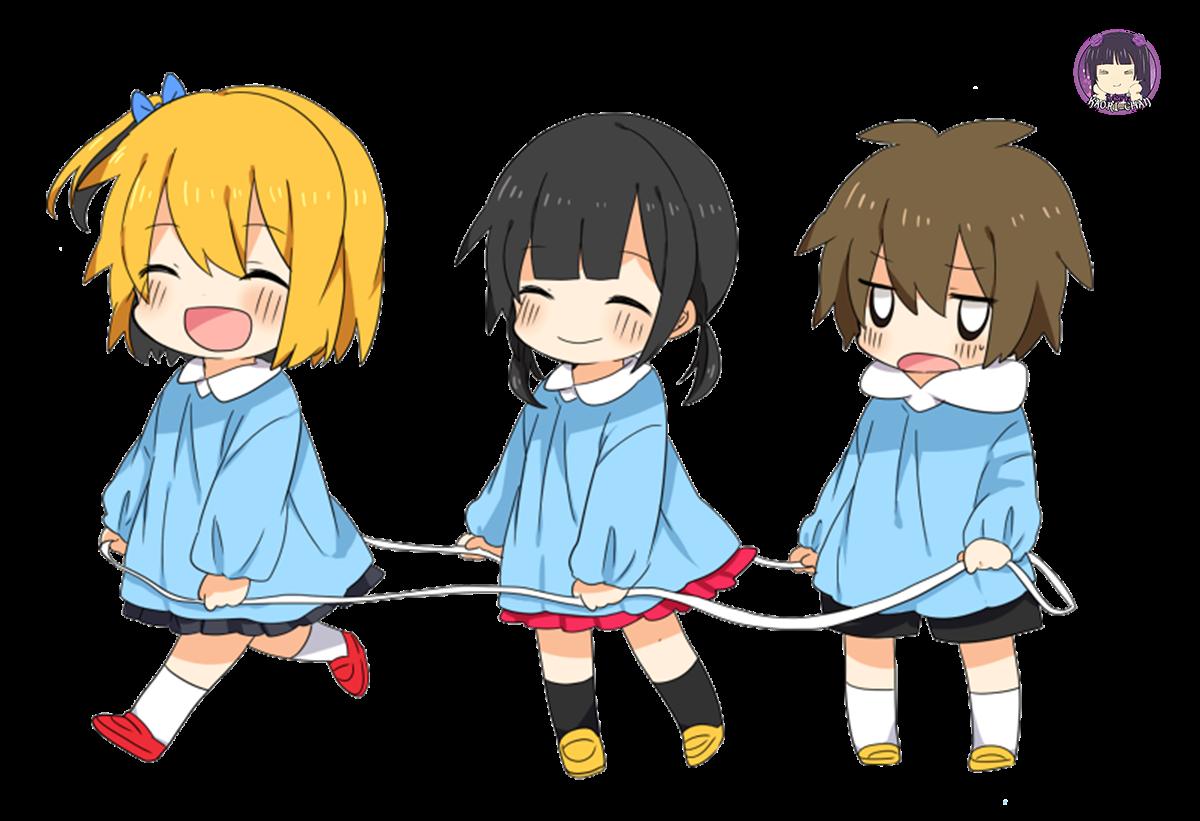 PNG-Momo, Hiyori Y Hibiya // Chibi // Kagerou Project