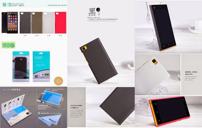 Jual Nillkin Frosted Super Shield Hard Case Xiaomi MI-3