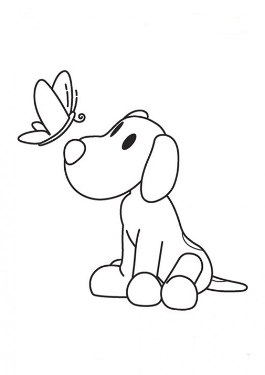Fun Coloring Pages: Pocoyo Coloring Pages