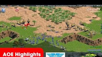 AOE Highlights, Một lần nữa sức mạnh của Palmyran, Persian được khẳng định là tối ưu trong map large