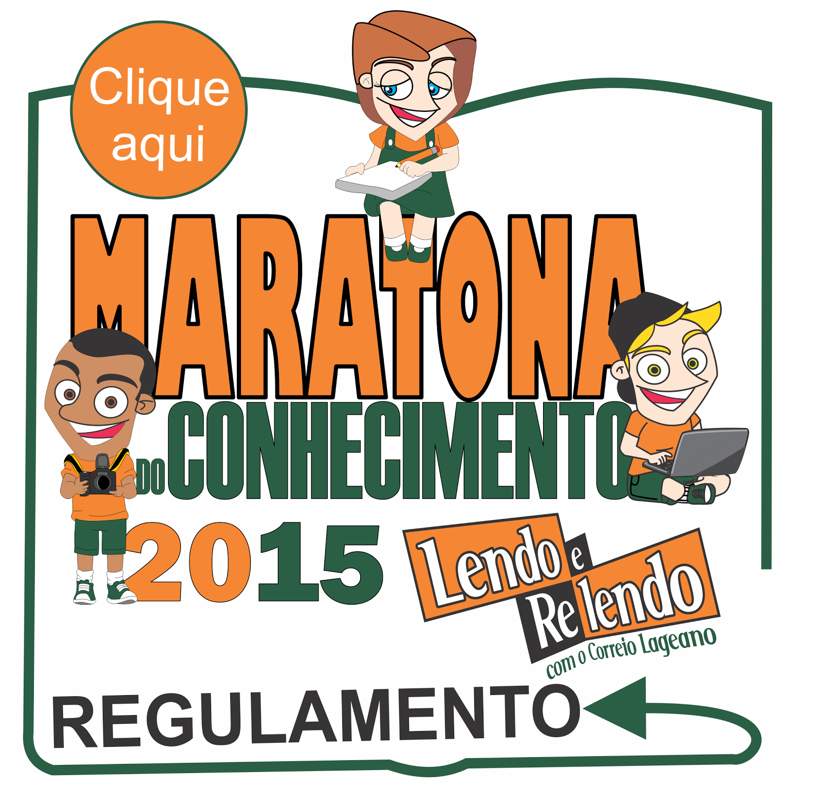 Baixe o regulamento da Maratona do Conhecimento